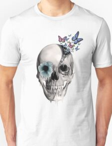 Open minded, unzipping sugar skull  T-Shirt