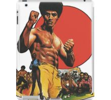 Afro Kung Fu  iPad Case/Skin