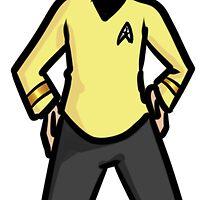 Captain Kirk by Nadohunter
