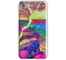 Looking out to sea. iPhone Case/Skin