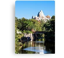Animal Kingdom - Expedition Everest Canvas Print