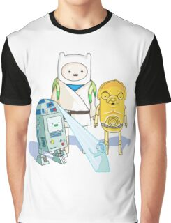 Star Wars Adventure Time Graphic T-Shirt