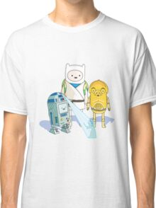 Star Wars Adventure Time Classic T-Shirt