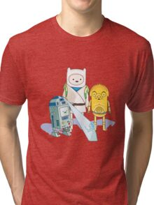 Star Wars Adventure Time Tri-blend T-Shirt
