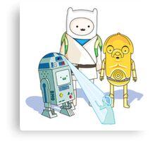 Star Wars Adventure Time Canvas Print