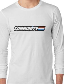 Community G.I Joe Long Sleeve T-Shirt