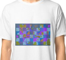 Colorful Checked Colorfield Classic T-Shirt