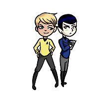 Kirk and Spock by Nadohunter