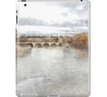 Rome: Tiber River urban landscape iPad Case/Skin