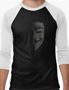 ANONYMOUS Men's Baseball ¾ T-Shirt