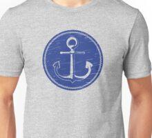 Anchor (one color - blue) Unisex T-Shirt