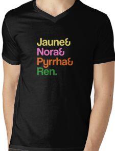 Jaune& Nora& Pyrrha& Ren. - RWBY Mens V-Neck T-Shirt
