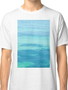 Sea surface background Classic T-Shirt