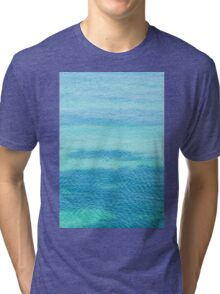 Sea surface background Tri-blend T-Shirt