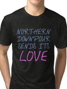 P!ATD/Music - Northern Downpour Sends Its Love Tri-blend T-Shirt