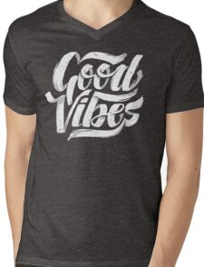 Good Vibes - Feel Good T-Shirt Design Mens V-Neck T-Shirt
