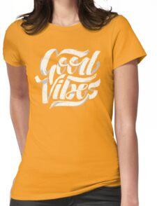 Good Vibes - Feel Good T-Shirt Design Womens Fitted T-Shirt