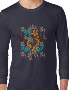 Floral Pattern #30  Long Sleeve T-Shirt
