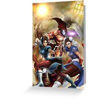 Street Fighter X Tekken and Chun li legends Phone Case Greeting Card