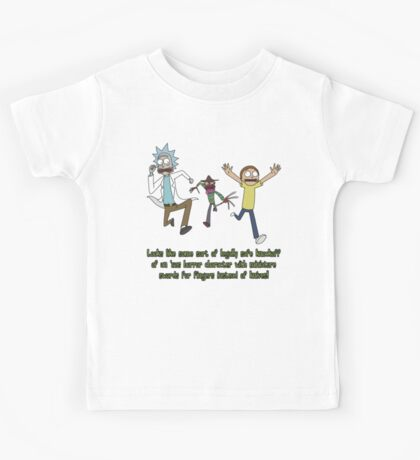 Rick and Morty – Looks Like an '80s Knockoff Kids Tee