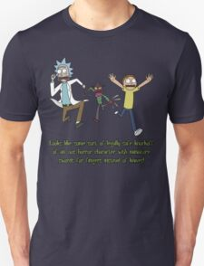 Rick and Morty – Looks Like an '80s Knockoff T-Shirt