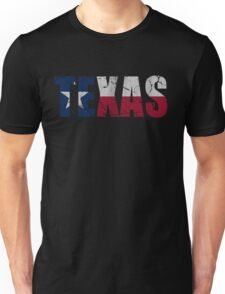 Vintage Texas Flag Patriotic  Unisex T-Shirt