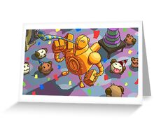 League of Legends - Blitzcrank Greeting Card
