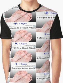 foot art Graphic T-Shirt