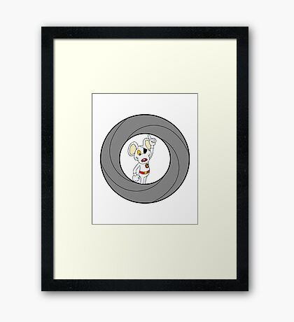 00-Mouse  Framed Print