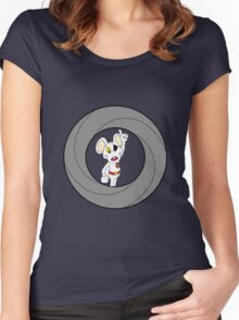 00-Mouse  Women's Fitted Scoop T-Shirt