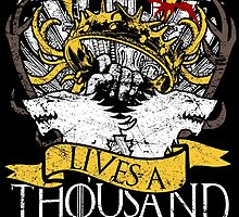 Game of Thrones - A Reader Lives A Thousand Lives by TyrionL