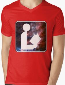Libraries are out of this world Mens V-Neck T-Shirt