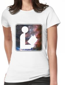 Libraries are out of this world Womens Fitted T-Shirt