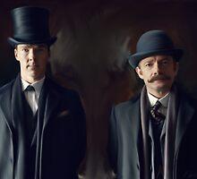 Holmes & Watson by RDobsonArt