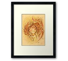 """""""Intimacy"""" from """"Love Angels"""" series Framed Print"""