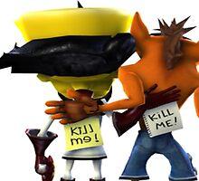 Crash Bandicoot - Crash and Cortex by 0Chara