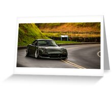 Mazda RX7 in the Mountains Greeting Card