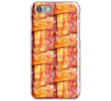 Cooked Bacon Weave Pattern iPhone Case/Skin
