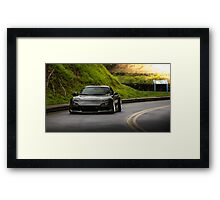 Mazda RX7 in the Mountains Framed Print