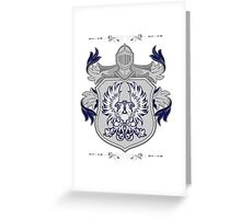 Commander of the Grey Greeting Card