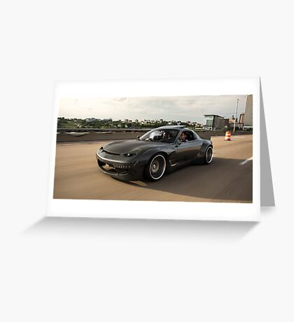 Mazda RX7 Greeting Card