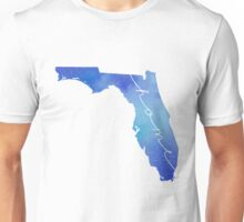 Florida watercolor home Unisex T-Shirt