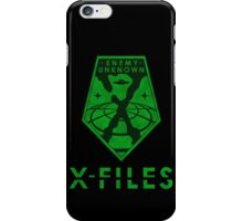 X-FILES: Enemy Unknown iPhone Case/Skin