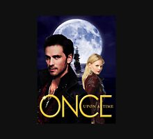 Once upon a time, OUAT, OUAT swan hook, Emma and Killian, Swan and hook, OUAT moon ship Womens Fitted T-Shirt