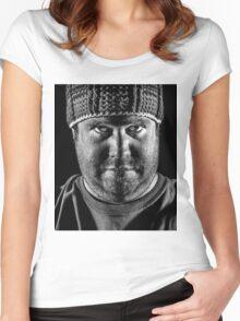 DANIEL'S EYES Women's Fitted Scoop T-Shirt