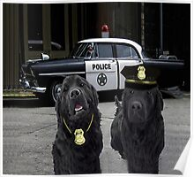 "☞ º°""˜`""°☜♥☞ BAD BOYS TAKEN FROM THEME SONG-POLICE DOGS THROW PILLOW ☞ º°""˜`""°☜♥☞ Poster"