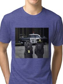 "☞ º°""˜`""°☜♥☞ BAD BOYS TAKEN FROM THEME SONG-POLICE DOGS THROW PILLOW ☞ º°""˜`""°☜♥☞ Tri-blend T-Shirt"