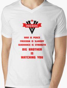 INGSOC Guidelines Mens V-Neck T-Shirt