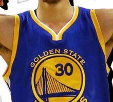 Steph Curry: The True Warrrior Sticker