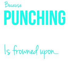 I RUN Because Punching People is frowned upon... by goodbengal